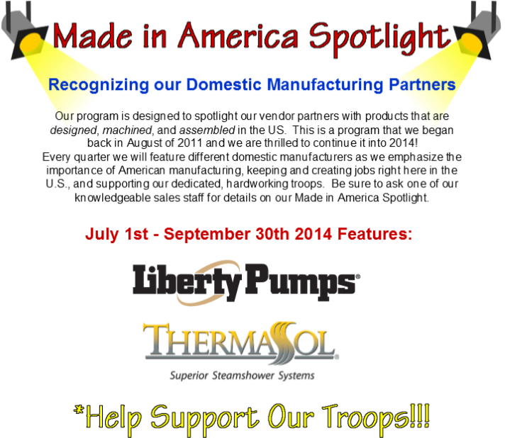 3rd Quarter Made in America Spotlight Vendors